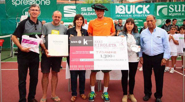 Fournerie gana Open Kiroleta